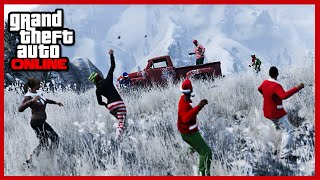 GTA 5 Online Christmas DLC - SNOW DAYS, EPIC NEW WEAPONS, CLOTHING, MASKS & More! (GTA V)