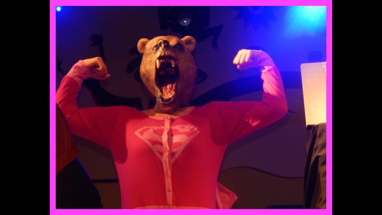 HUNGRY BEAR **featuring The Kashmiri Disco Dancing Bear