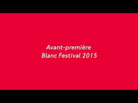 Blanc Festival Barcelona. Sorteo Loco. 2015