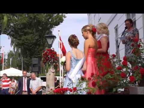 Rosenfestival 2014 i Bogense på Nordfyn
