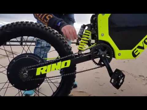 rino power e bike by evolution power bikes youtube. Black Bedroom Furniture Sets. Home Design Ideas