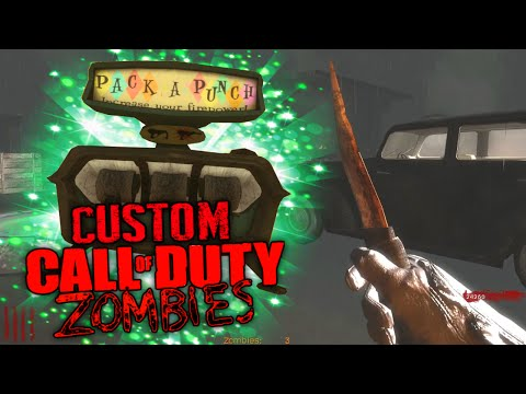 """Pack-a-Punch'ed SHANK!"" - Custom Zombies ""Detained"""
