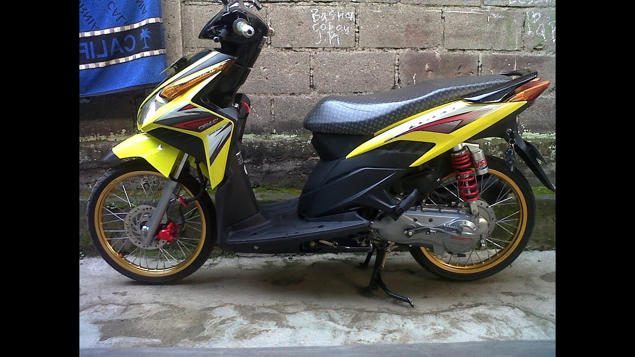 Motor Trend Modifikasi Video Modifikasi Motor Honda Vario Velg