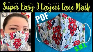 247 How To Make The Best Fitted No Fog On Glasses Face Mask The Twins Day Face Mask Tutorial