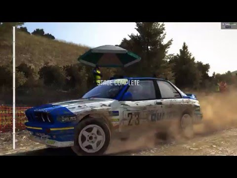 Dirt Rally - Daily stage and Greece community 80's event.