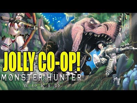 OTHERS DO THE WORK! Monster Hunter World Multiplayer Beta!