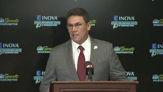 Redskins Hold Press Conference For New Coach Ron Rivera