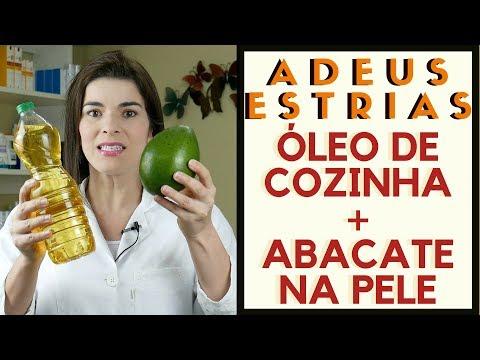 ADEUS ESTRIAS - Óleo de Cozinha e Abacate na Pele - Receita Caseira