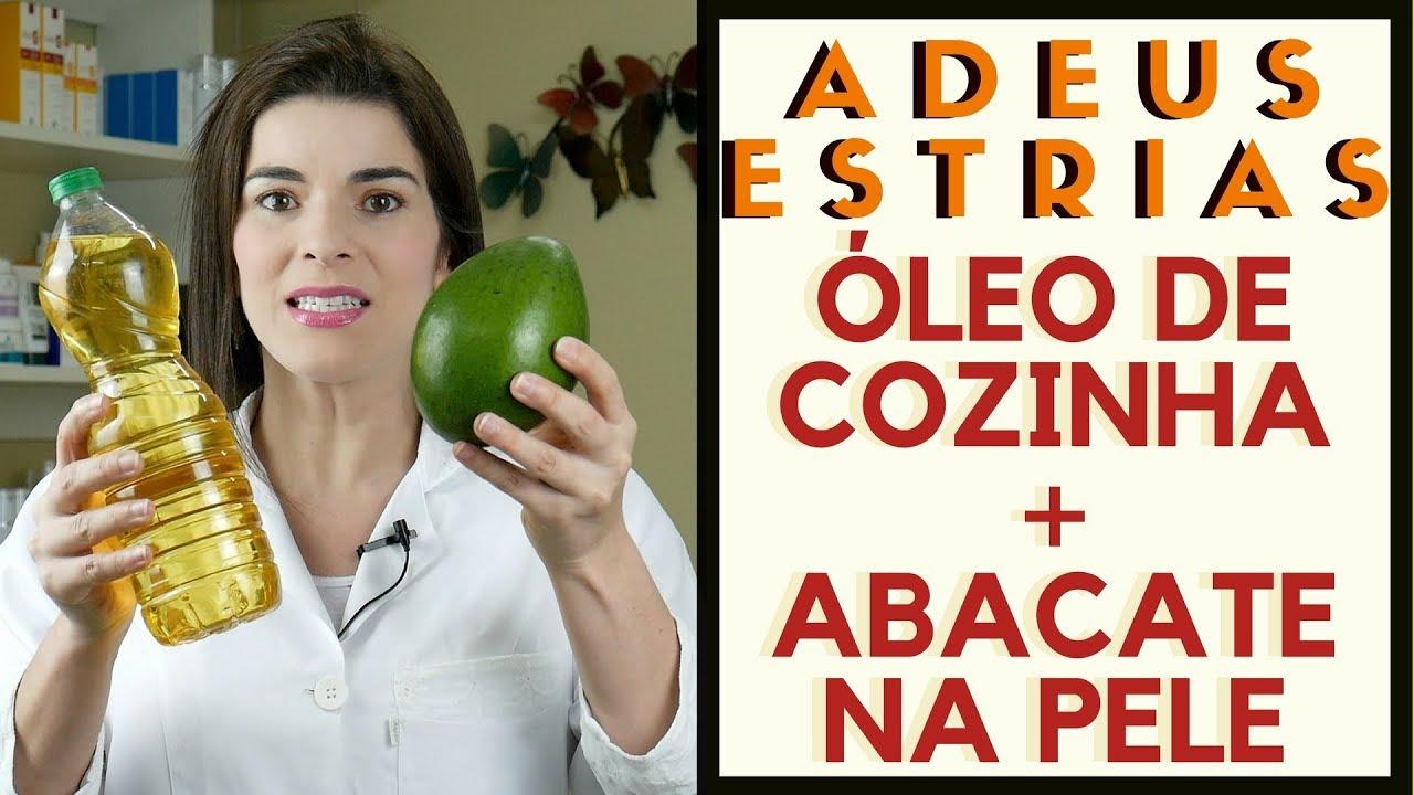oleo de abacate para que serve na pele