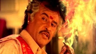 Pedarayudu Movie || Rajnikanth Introduction Scene || Mohan Babu,Soundarya