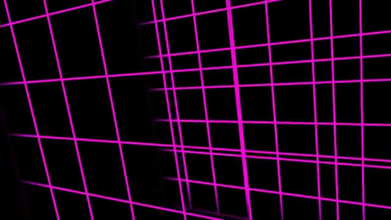 New 3d Animation Wallpaper Pink Grid Animation Free Footage Hd Youtube