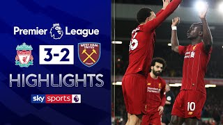 Mane's late strike helps Liverpool overcome big scare! | Liverpool 3-2 West Ham | EPL Highlights