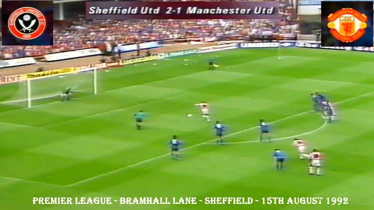 Sheffield united fc v manchester united fc 2 1 15th august sheffield united fc v manchester united fc 2 1 15th august 1992 bramhall lane voltagebd Images
