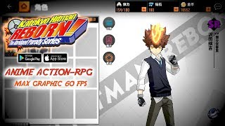 Anime Style Action-RPG !!! HITMAN REBORN (CN) Android Gameplay