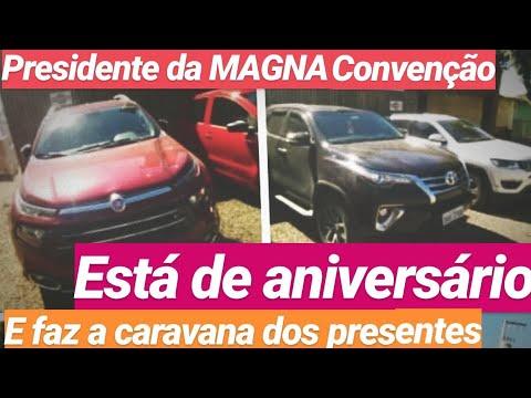 Presidente Da MAGNA Ganha Presentinho De Muitos $$$$ Zeros