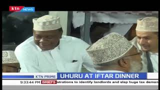Uhuru joins Muslims at Jamia Mosque for iftar dinner, Yemen Prime minister also present