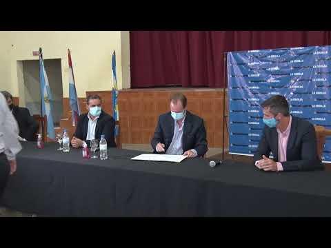 """Bordet destacó que el plan de saneamiento que se lleva a cabo en la provincia """"es histórico"""""""