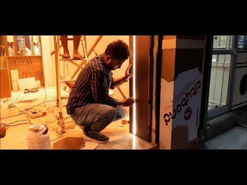 Led Aluminium Profile  Plywood में कैसे लगाये ? How To Install Led Aluminum Profile In Plywood ?