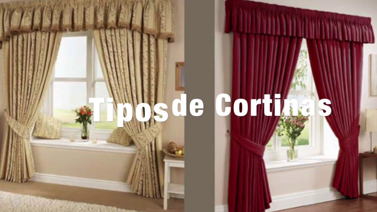 Tipos de cortinas hd youtube - Tipos de cortinas ...