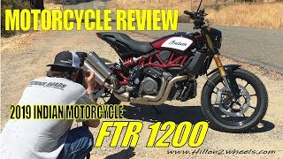 MOTORCYCLE REVIEW:  Indian Motorcycle FTR 1200