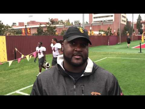 USC OC Tee Martin after Spring Practice No. 4