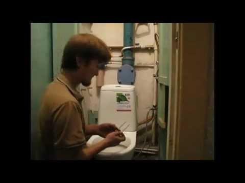 видео: Установка унитаза своими руками