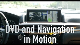 2013-2018 Lexus LX570 DVD and Navigation in Motion (Installation) Beat-Sonic NDS6223EP