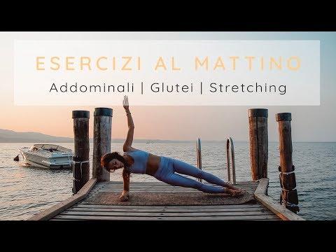 Esercizi Al Mattino: Addominali, Glutei E Stretching