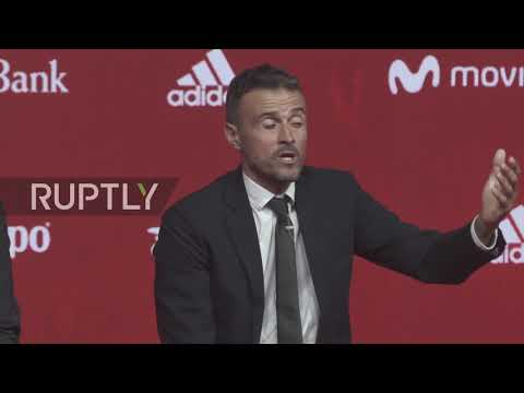 Spain: Luis Enrique unveiled as new Spanish football team head coach