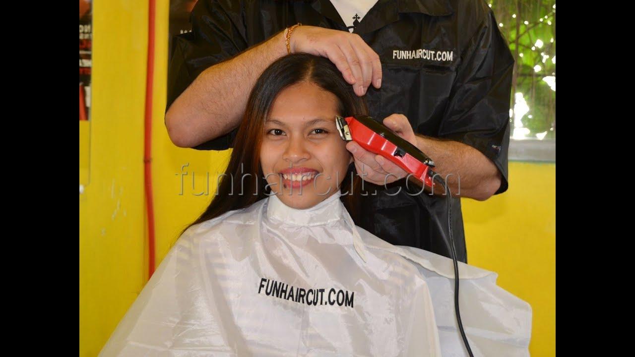 Girl Short Barbershop Buzzcut YouTube