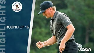 Highlights: 2019 U.S. Amateur Round of 16