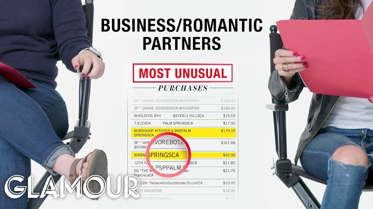 How Two Business and Romantic Partners Spend Their $50K Income | Glamour