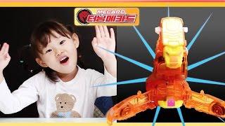 신상 파이온 터닝메카드 슈팅 변신 자동차 로봇 장난감 놀이하는 라임튜브 LimeTube & Toys