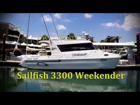 sailfish-3300-weekender-powercat-sold
