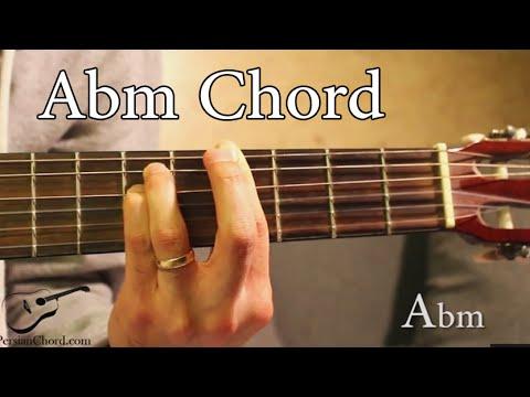 Abm Chord On Guitar 4th Fret Youtube