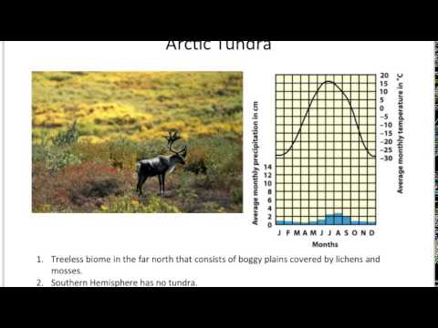 Earth climate and biomes part 2