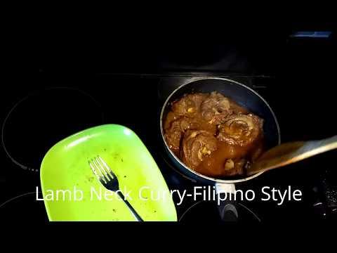 How To Cook LEEG NG KARNERO CURRY | Filipino Lamb Neck Curry