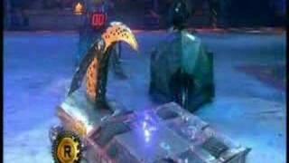 Razer vs Tornado (Robot Wars Battle)
