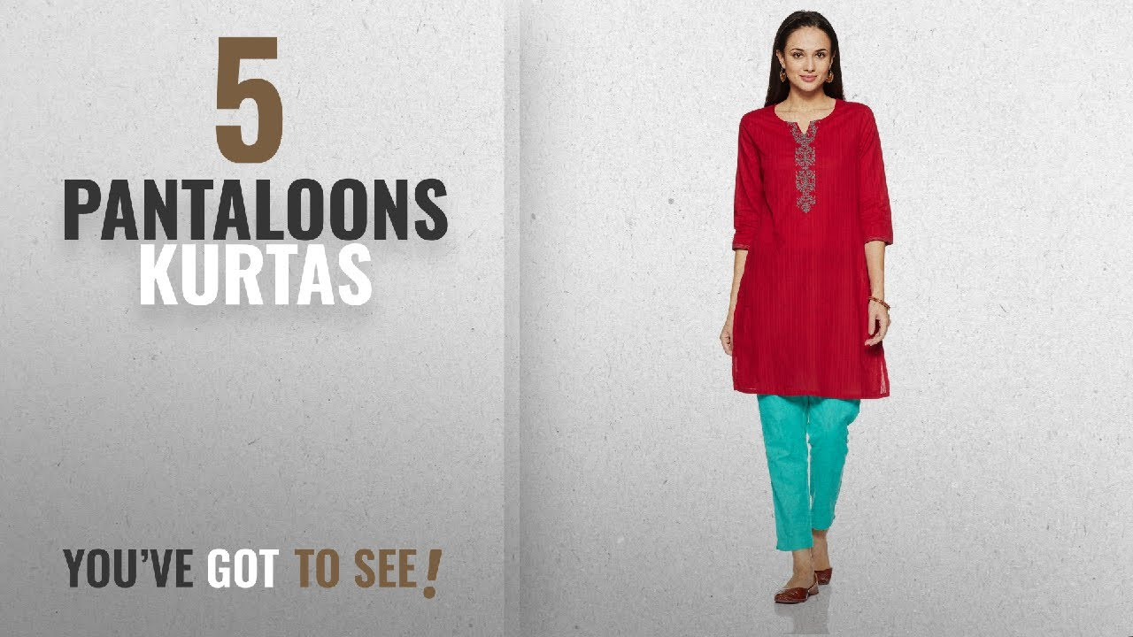242770c4f5e Top 10 Pantaloons Kurtas  2018   Rangmanch by Pantaloons Womens ...