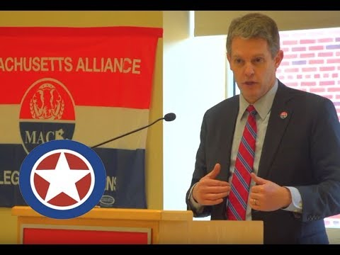 MA Republican Candidate for Congress, Rick Green, Speaking at WPI in Worcester 4/22/2018