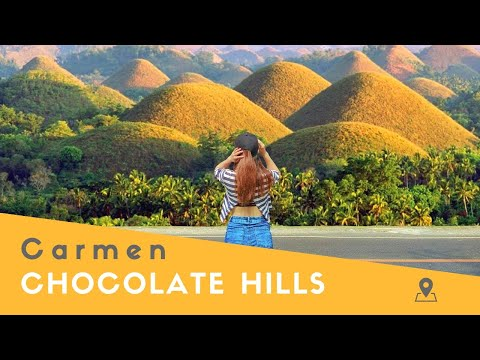 The Chocolate Hills of Bohol (Philippines)