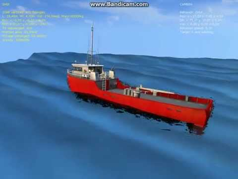 Basic simulation of ship motion in regular waves