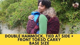 Tandem Babywearing: Double Hammock Tied At the Side + Front Torso Carry (DH TAS + Front TSC)