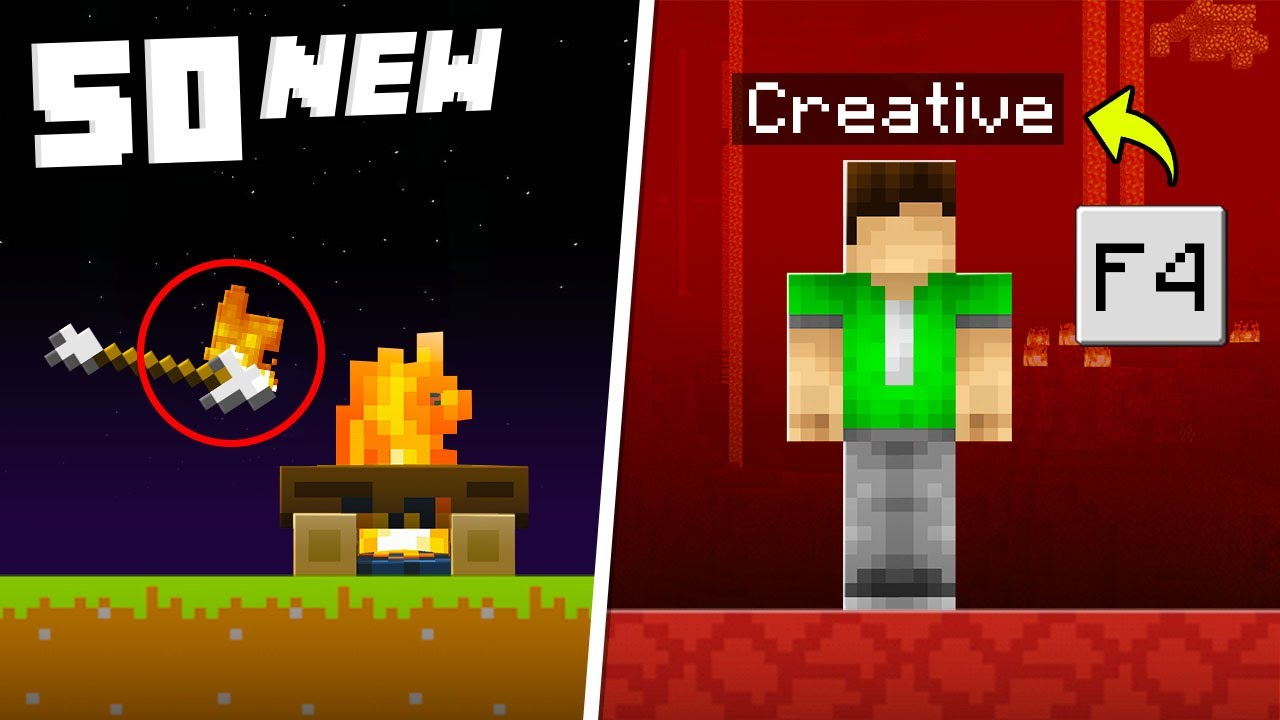 50 Nether Secrets You Didn't Know in Minecraft 1.16!