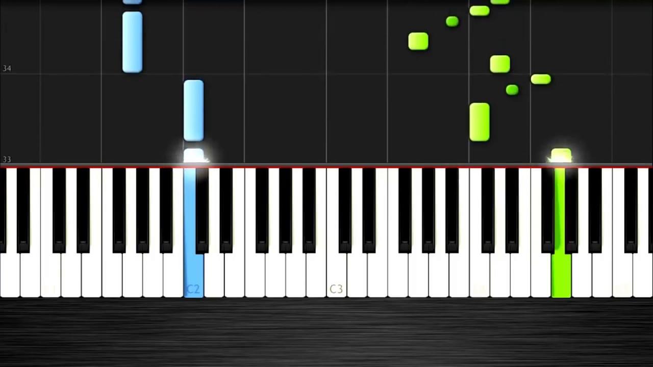 """Как сыграть мелодию из сериала """"Игра Престолов"""" на пианино. Легко!"""