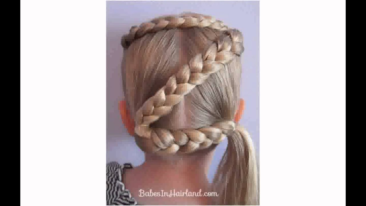 easy crazy hairstyles girls