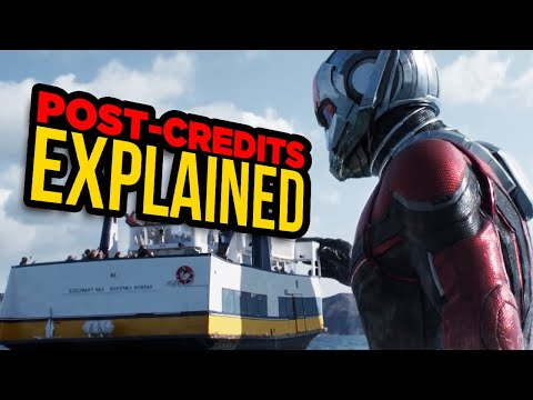 Ant-Man And The Wasp's TWO Post-Credits Scenes Explained