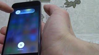 Айфон заработал после жесткого глюка. Устранил перезагрузкой телефона.