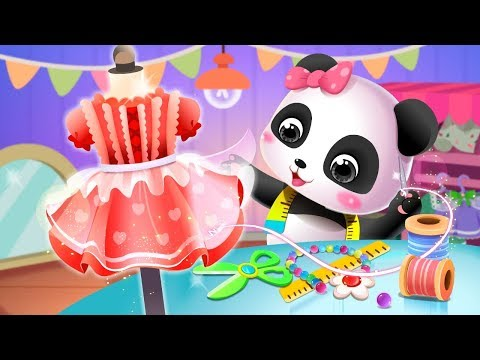 Baby Panda's Fashion Dress Up Game | DIY Games | Games For Kids | Educational App | BabyBus Games
