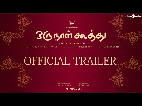 Oru Naal Koothu Official Trailer | Dinesh | Mia George | Justin Prabhakaran | Releasing On 10th June